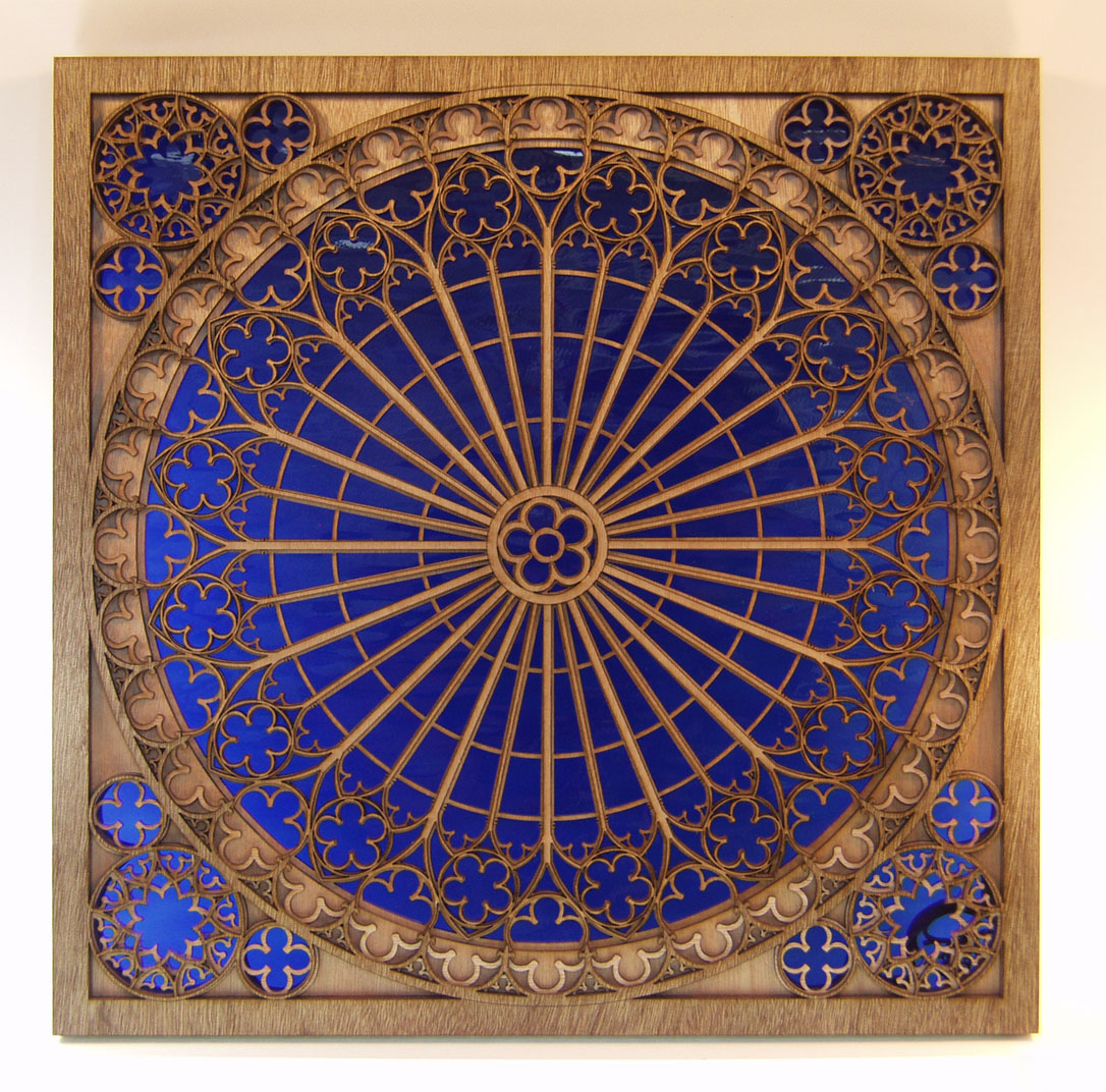 Rose Window Image 1 Of 3